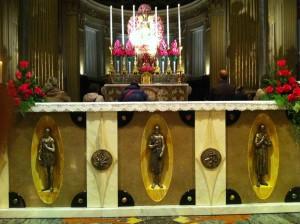 San Vitale, San Pietro, Sant'Agricola e la Beata Vergine di san Luca