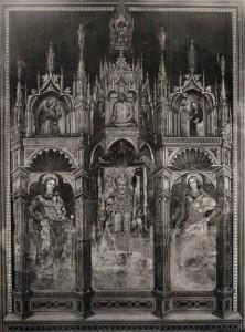 Sant'Ambrogio, San Vitale, Sant'Agricola, Cristo in pietà, Annunciazione