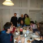 incontro   cena gruppo medie 2012 Parrocchia del Ss. Vitale e Agricola in Arena