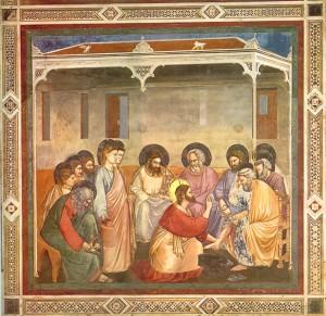 Lavanda dei piedi  Giotto