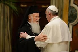 Papa Francesco e Bartolomeo I