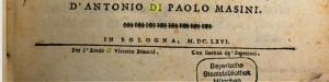 Bologna perlustrata - Curatore