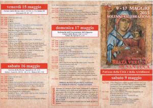 Beata Vergine di San Luca - solenni celebrazioni 1