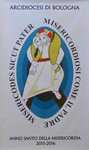 Logo Giubileo Misericordia Chiesa di Bologna